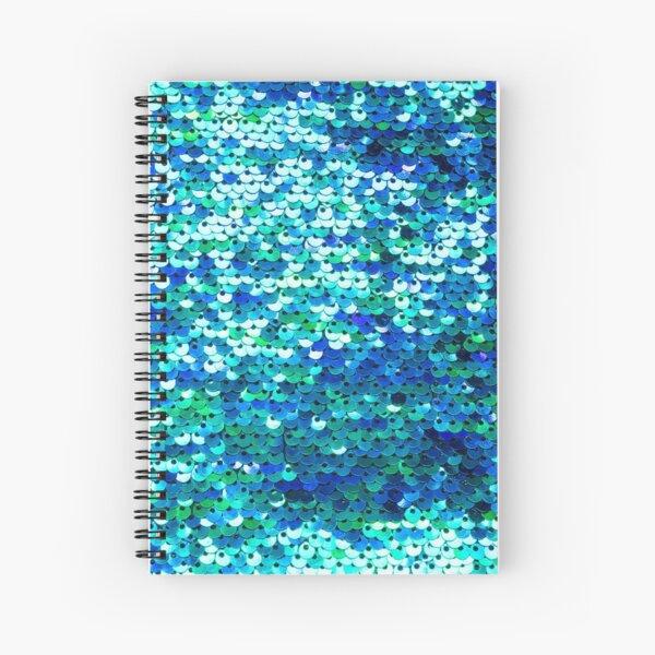 Beautiful sequins texture Spiral Notebook