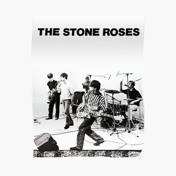 Stone Roses live perform Poster