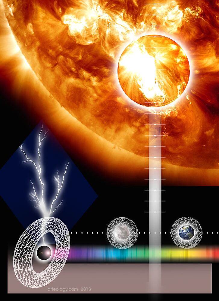 solar flare by arteology