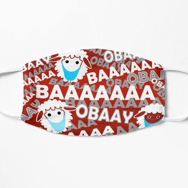 BAAAAA   OBAAY! - SHEEPLE must OBEY the Masters Flat Mask