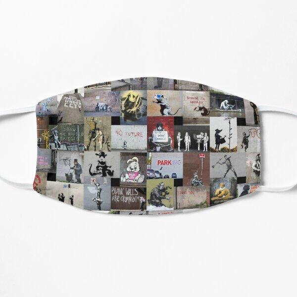 Banksy Flat Mask
