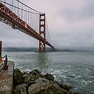 Golden Gate Bridge from Fort Point by James Watkins