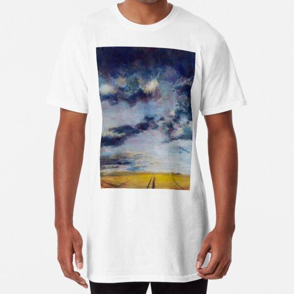 Das Gewitter und die Ernte Longshirt
