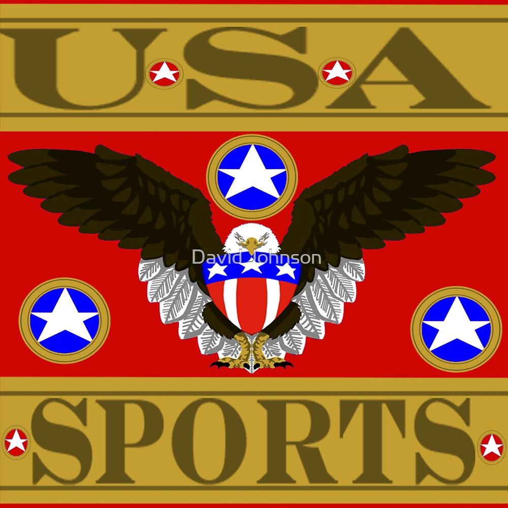 USA Sports Red by Euvari