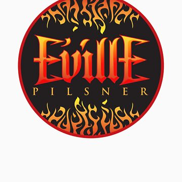 Eville Pilsner Circle by bluegiant