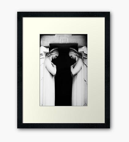 The Guardians Framed Print