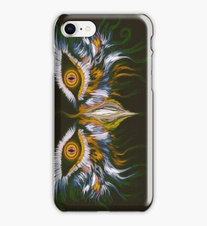 WHO can it be now? iPhone Case/Skin