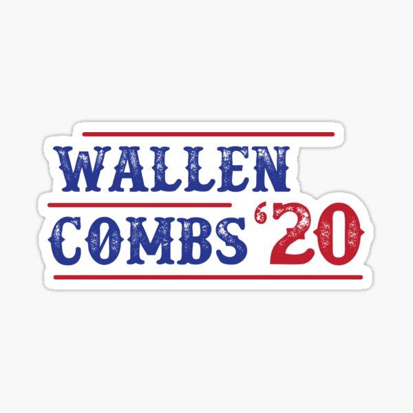 Wallen Combs '20 Sticker