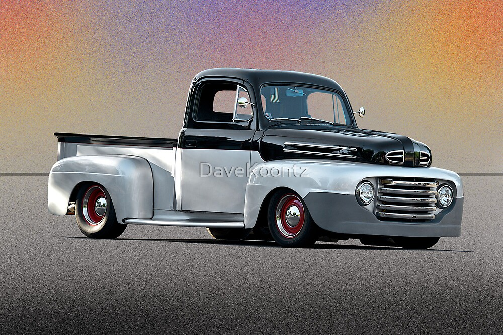1949 Ford F1 Pick-Up Truck by DaveKoontz