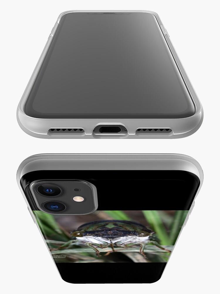 Alternate view of Cicada Face iPhone Case & Cover
