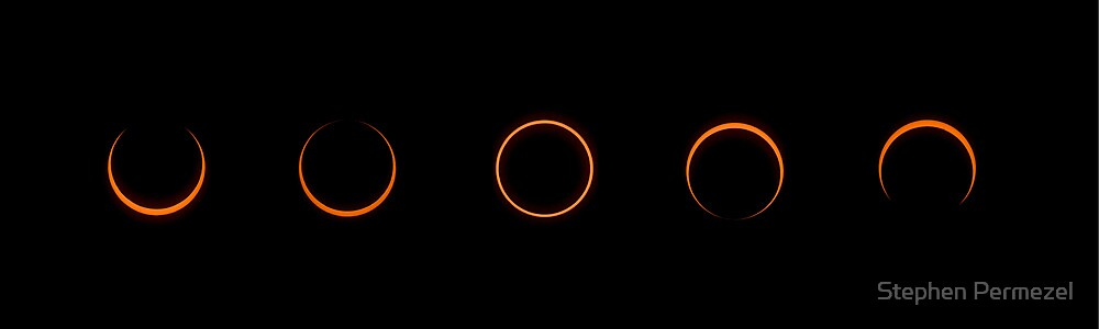 Annular Solar Eclipse 2013 - Tennant Creek, Australia by Stephen Permezel