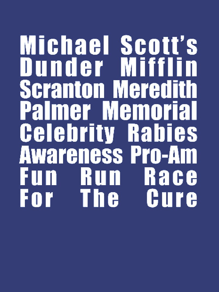 Dunder Mifflin Fun Run | Unisex T-Shirt