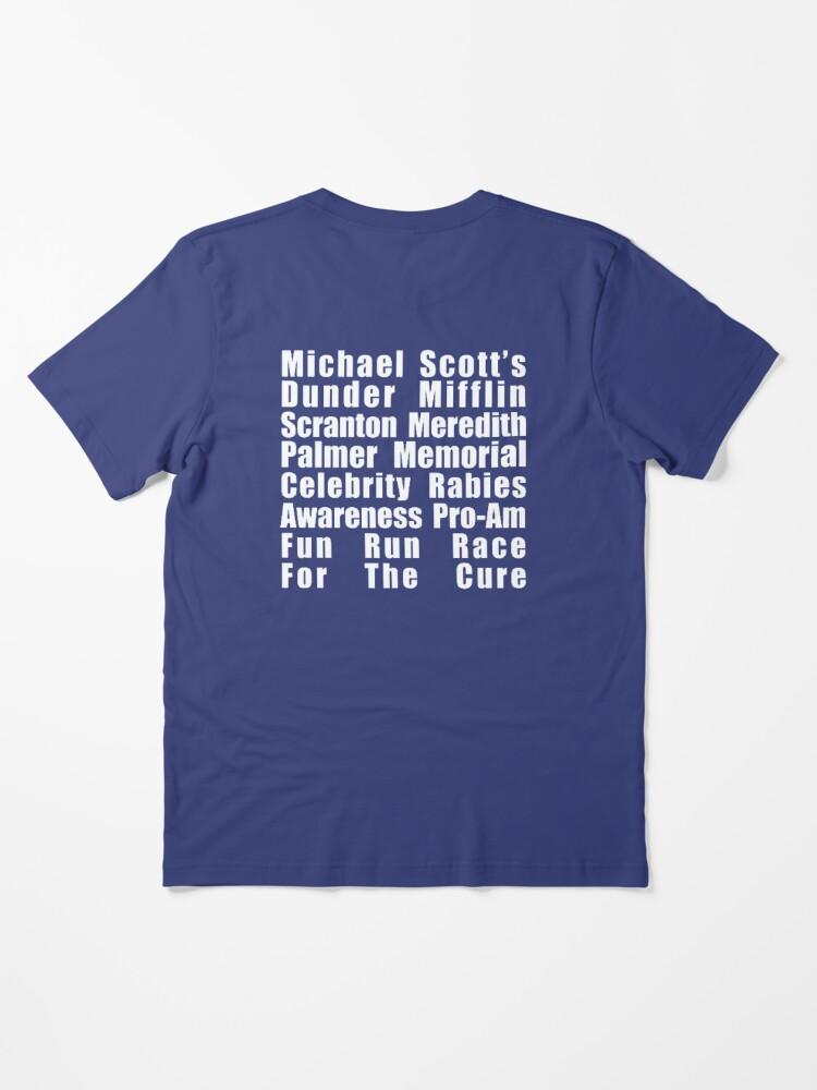 Alternate view of Dunder Mifflin Fun Run Essential T-Shirt
