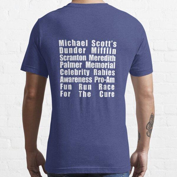 Dunder Mifflin Fun Run T-shirt essentiel