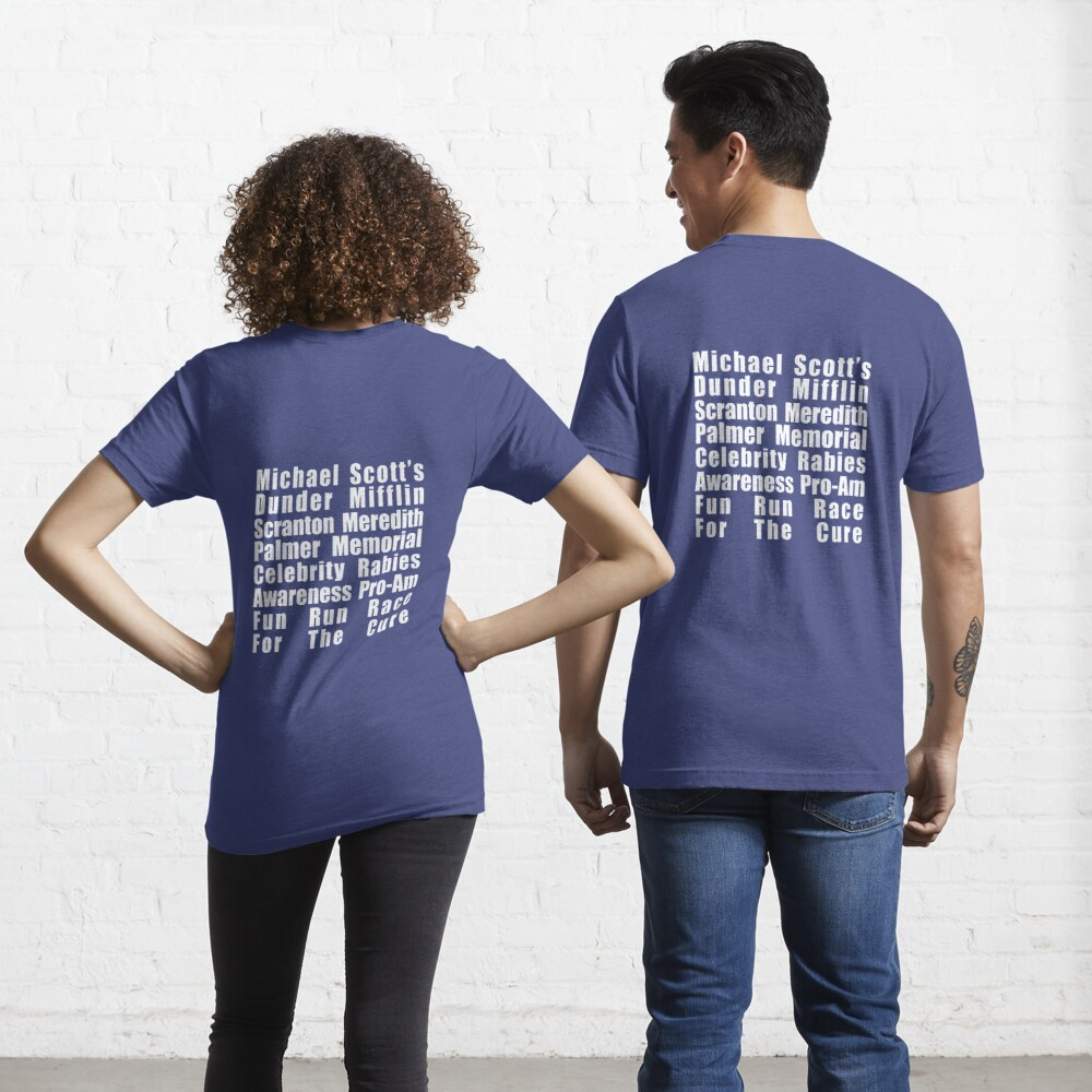Dunder Mifflin Fun Run Essential T-Shirt