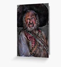 The Bandito Greeting Card