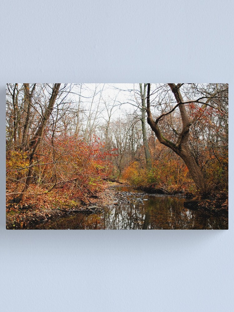 Alternate view of After the First Frost Canvas Print