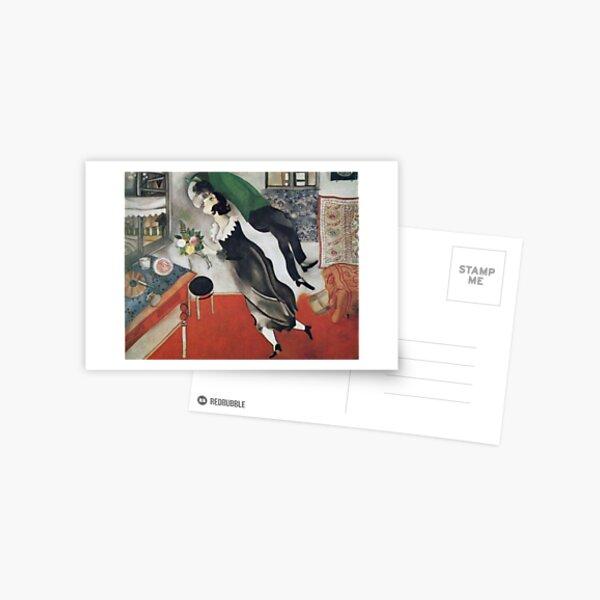 The Birthday (1915) by Marc Chagall Postcard