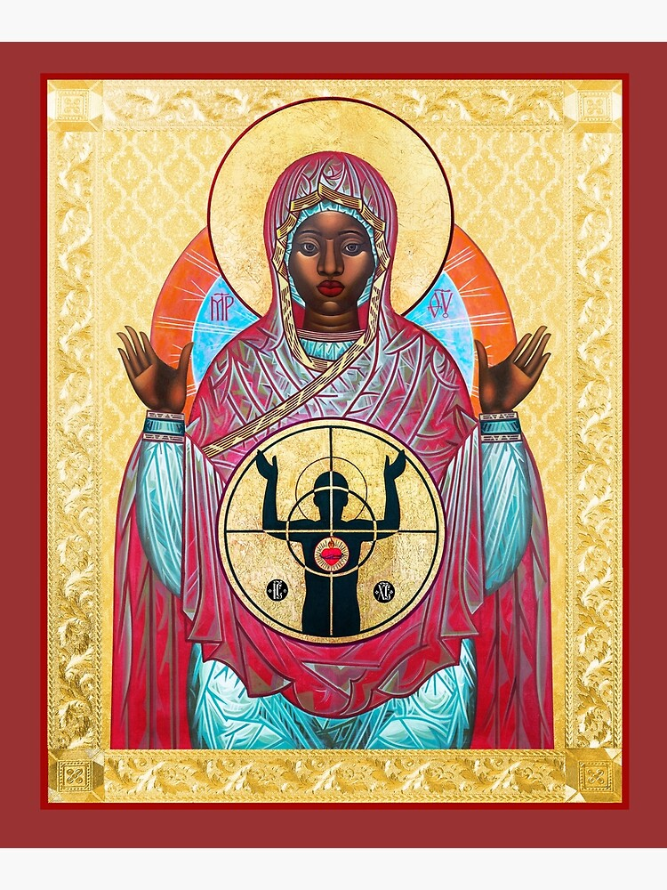 OUR LADY OF FERGUSON by MRKDKS