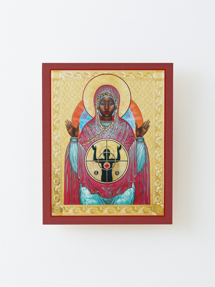 Alternate view of OUR LADY OF FERGUSON Mounted Print