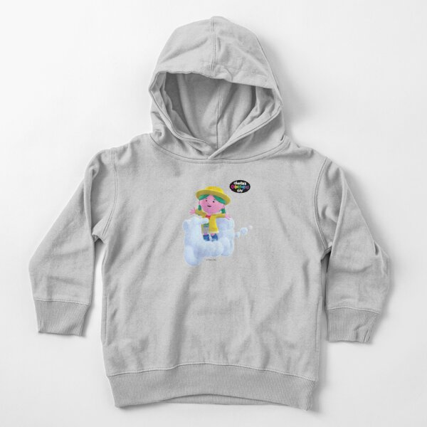 Charlie's Colorforms City - Miss Weather on Scooter Toddler Pullover Hoodie