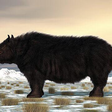 Woolly Rhinoceros by Skyviper
