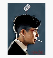 Peaky Blinders - clean background Photographic Print