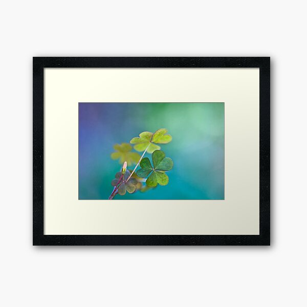 In love with nature Framed Art Print