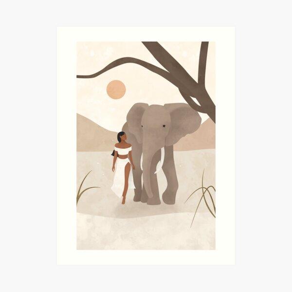 Spirit Animal – Elephant Art Print