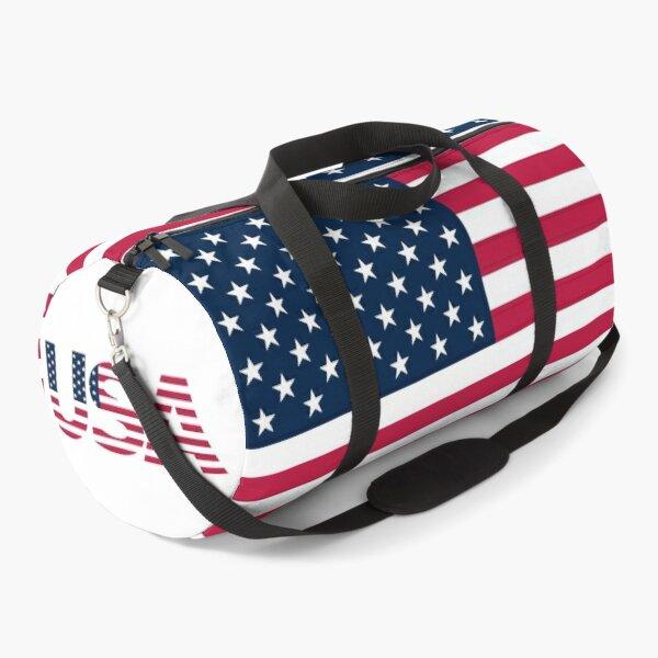 American USA Stars and Stripes Flag Duffle Bag