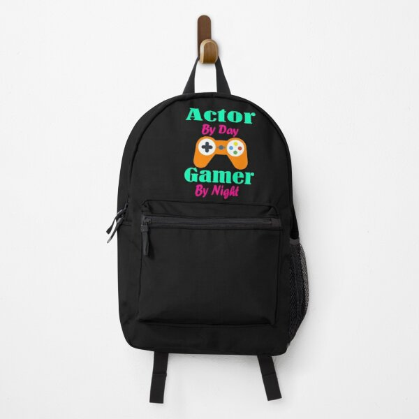 Actor by Day Gamer By Night Backpack