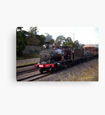 Steam Loco 3265 -Maitland NSW Australia Canvas Print
