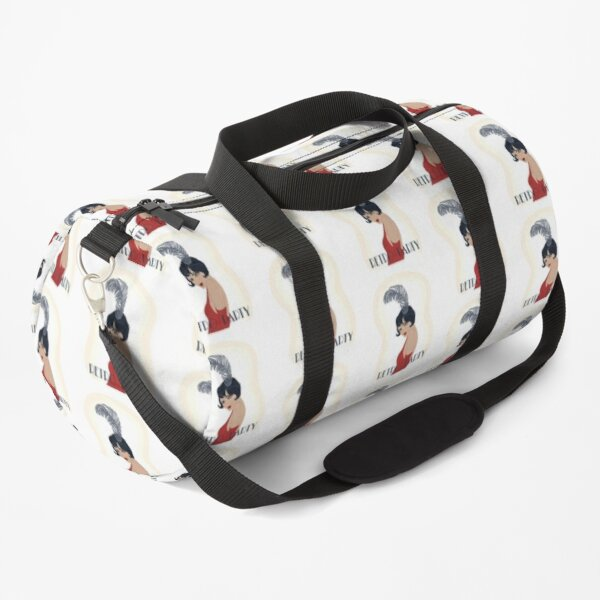Retro Party Art Deco Girl Picture Duffle Bag