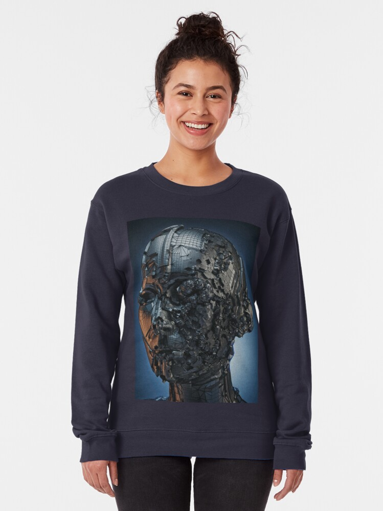 Alternate view of OVERTHINKING Pullover Sweatshirt