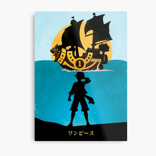 One Piece / Poster Sunny Metal Print