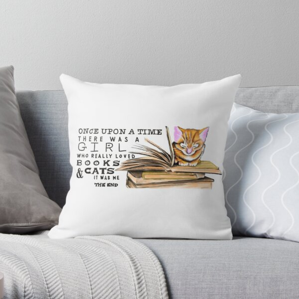 Once Upon a Time... Throw Pillow