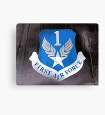 First Air Force Crest  Canvas Print