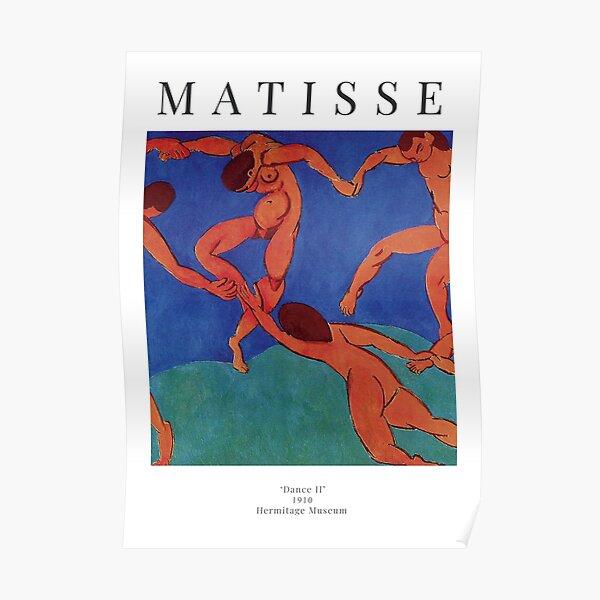Henri Matisse - Dance II - Exhibition Poster Poster