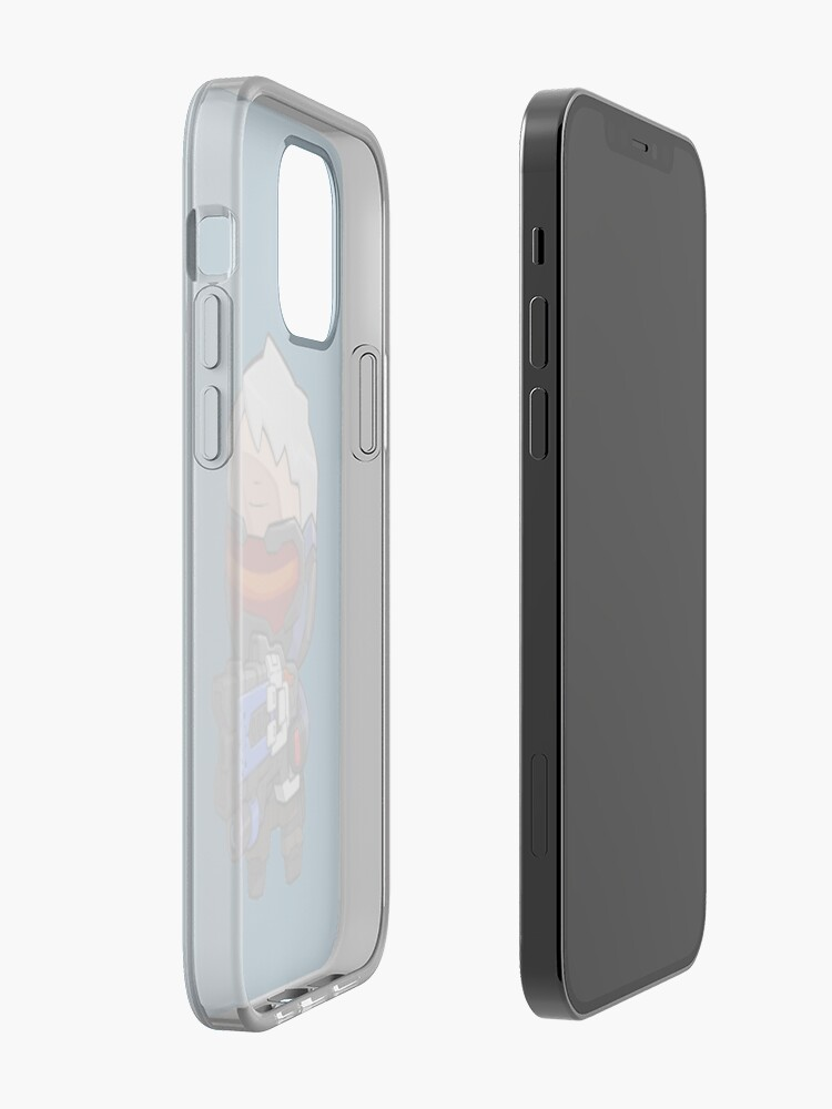 Soldier 76 Sticker and Phone Case   iPhone Case & Cover