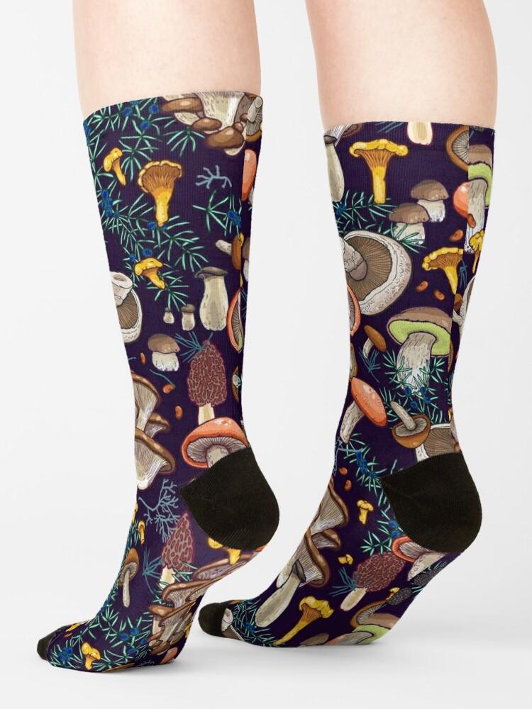 Alternate view of Dark dream forest Socks