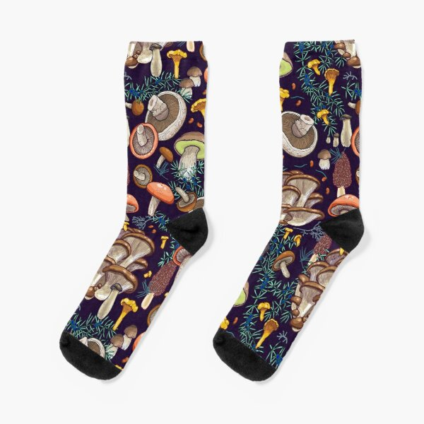 Dark dream forest Socks