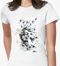 dandelion meadow Womens Fitted T-Shirt