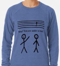 Sudadera ligera Funny Music Joke camiseta