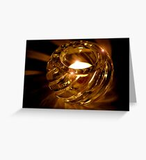 Shimmer, Glimmer, Sparkle, Glow Greeting Card