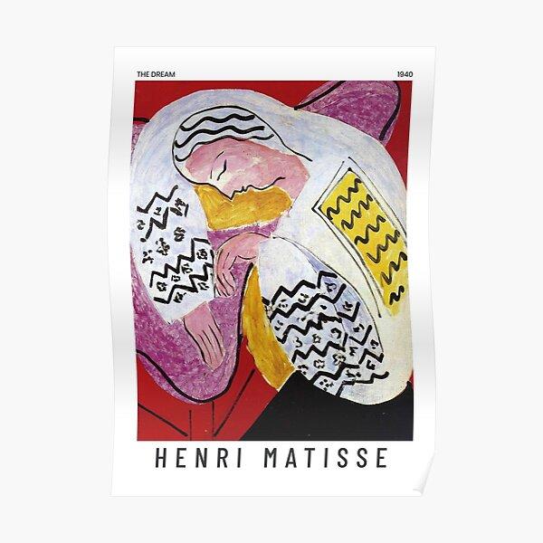 Henri Matisse - The Dream - Art Poster Poster