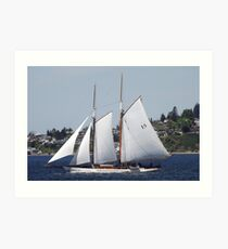 First Bright, Sunny, Spring Day on Commencement Bay Art Print