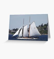 First Bright, Sunny, Spring Day on Commencement Bay Greeting Card