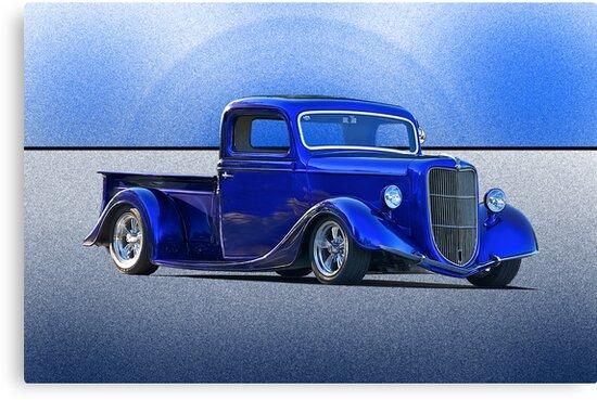 1935 Ford Pick-Up Truck .... Cincinatti Blues by DaveKoontz