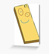 Plank Greeting Card