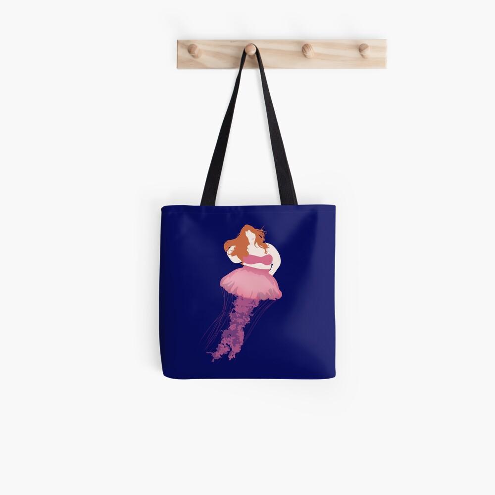 Jellyfish Woman 001 Tote Bag